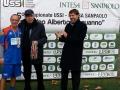 Trofeo-DAguanno-2013-Luigi-Ferrajolo-USSI-e-Valter-Carraturo-Intesa-Sanpaolo-premiano-la-seconda-classificata-USSI-Puglia