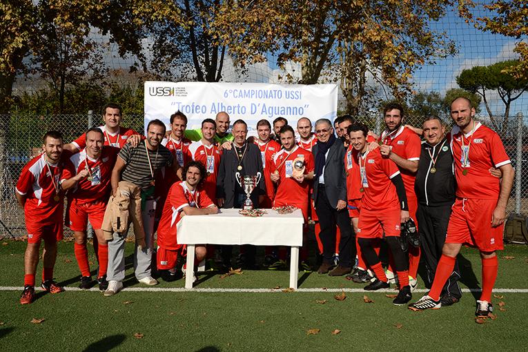 Ussi Puglia, squadra terza classificata