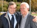 L\'avvocato Gianfranco Tobia, vice presidente di Ussi Roma, con il consigliere nazionale Sergio Di Sciascio