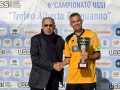 Ferrajolo premia Nicola Tani, capitano di Ussi Roma