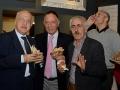 Il capo comunicazione del Coni, Danilo Di Tommaso, assieme a Antonio Guidi e Antonio De Leonardis, rispettivamente presidenti di Ussi Puglia e Ussi Abruzzo