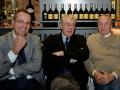 Simone Nozzoli, vice Presidente Ussi Nazionale, in compagna di Franco Morabito, Presidente Ussi Toscana, e Giulio Santi.