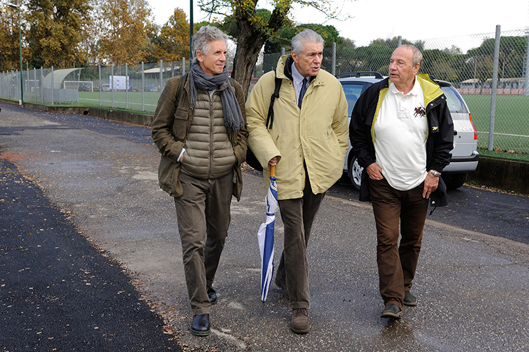 Andrea Santoni, Franco Morabito e Giulio Santi