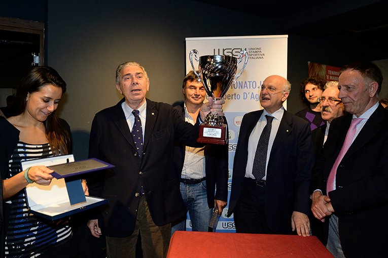 Il Presidente Ferrajolo dà appuntamento all\'indomani, giorno della finalissima